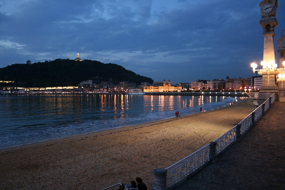 Playa de la Concha, Donostia - Beach of La Concha