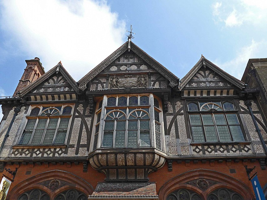 Public Library and Museum, Beaney Institute, High St, Canterbury, Kent, UK - Beaney House of Art and Knowledge