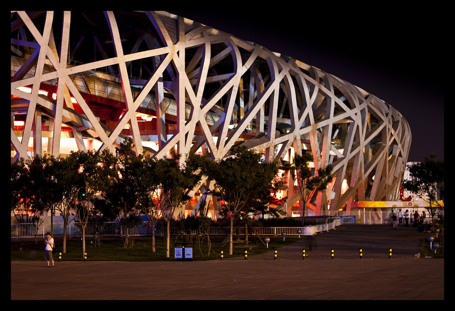 Bird's Nest National Olympic Stadium Beijing - Beijing National Stadium