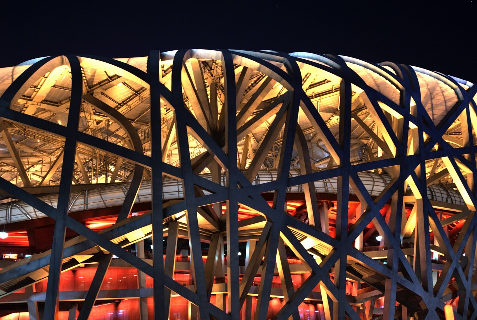 Inside the Nest - Beijing National Stadium