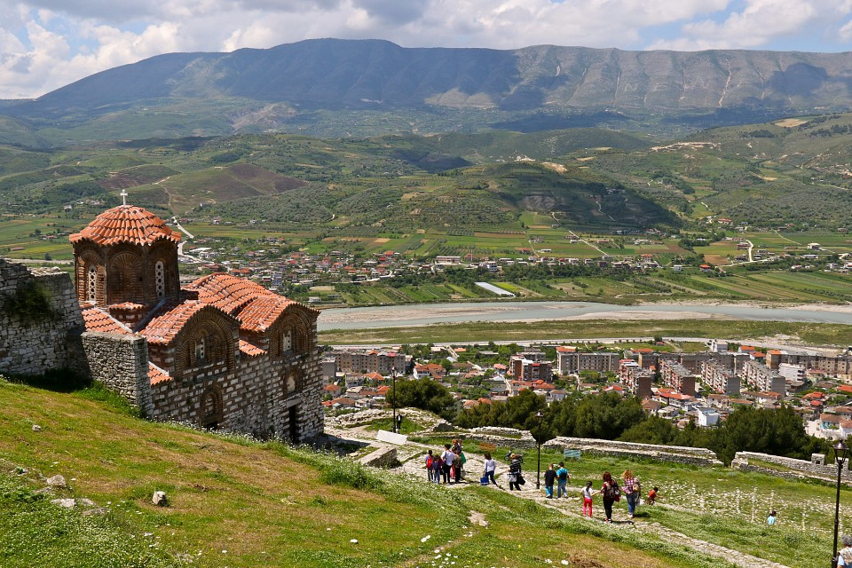church Shen Triadhes at Berat castle - Berat Castle
