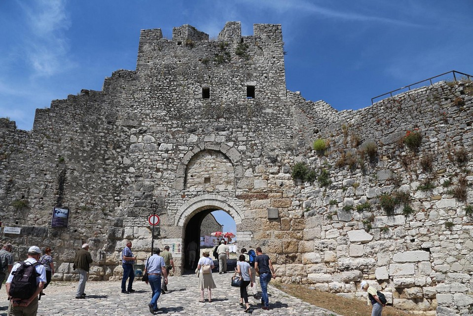 Berat castle entrance - Berat Castle