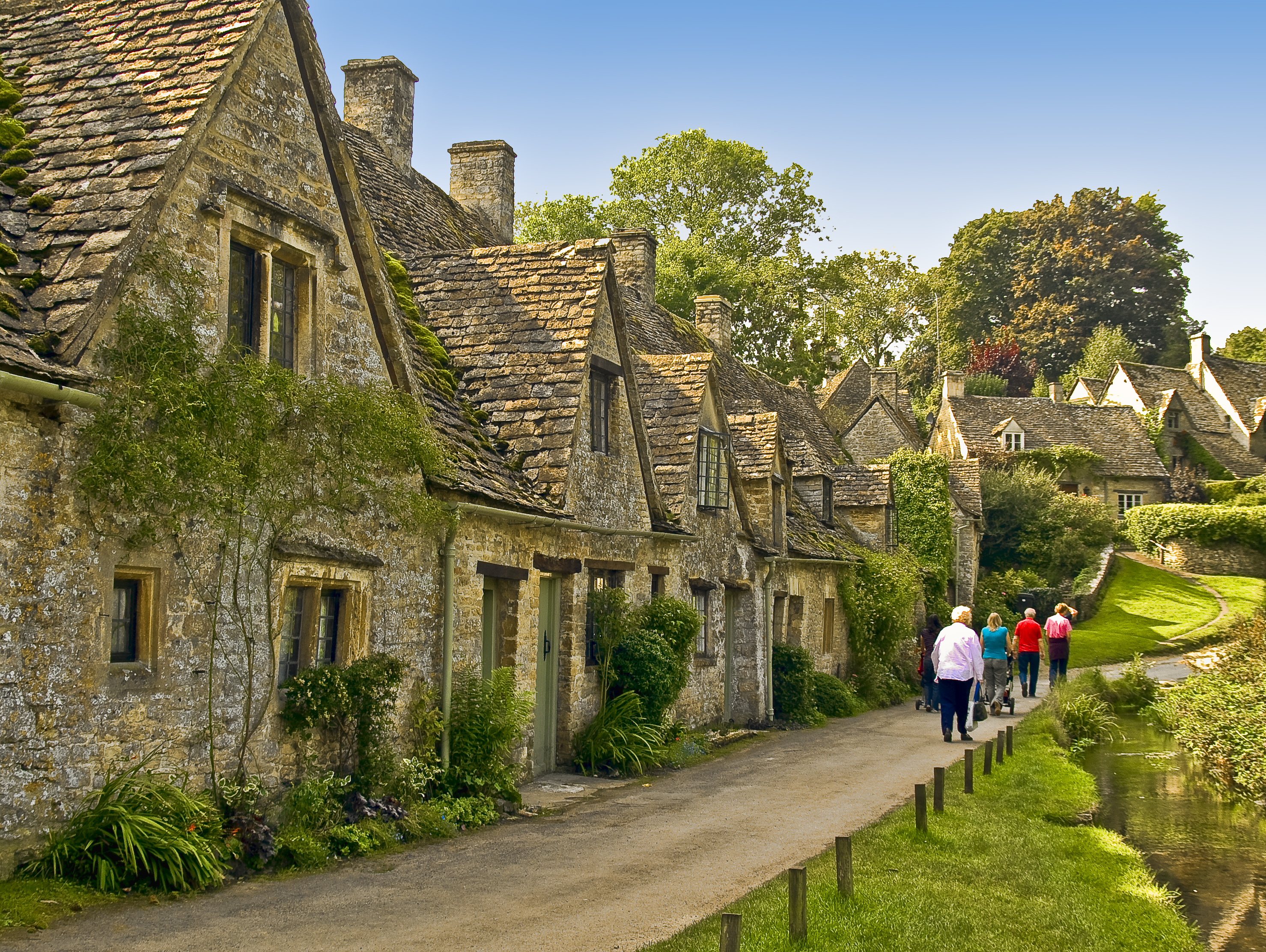 Bibury village in england thousand wonders for Wallpaper home england