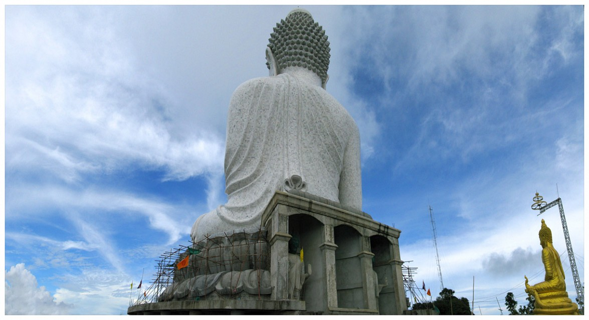 The Really Big & The Not As Big Buddha | Phuket - Big Buddha Phuket