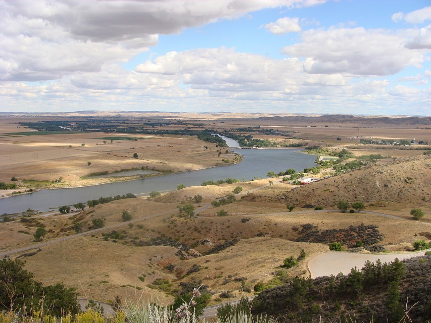 Afterbay Bighorn Lake; Yellowtail Dam & Bighorn River/Fort Smith, MT - Bighorn Lake