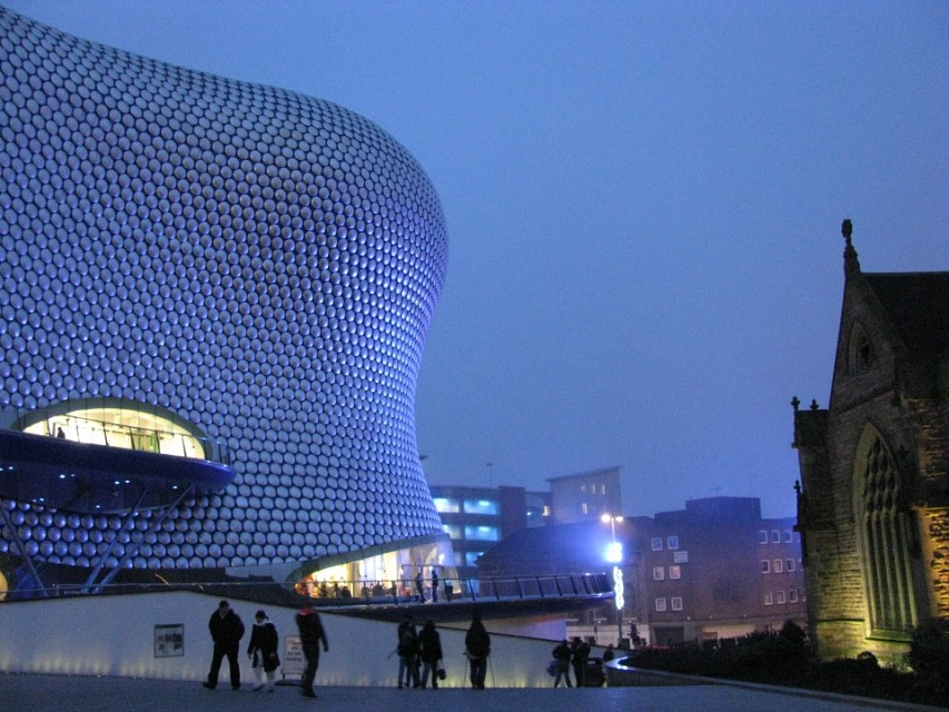 Birmingham - A Shopping Centre and St Martins - Birmingham