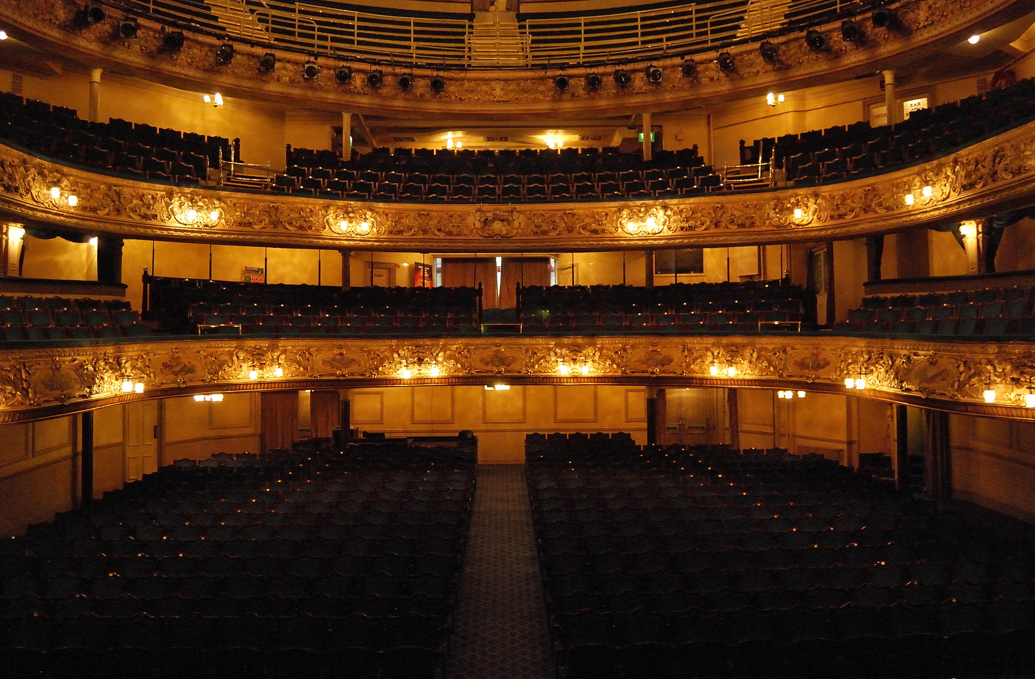blackpool grand theatre public building in blackpool thousand