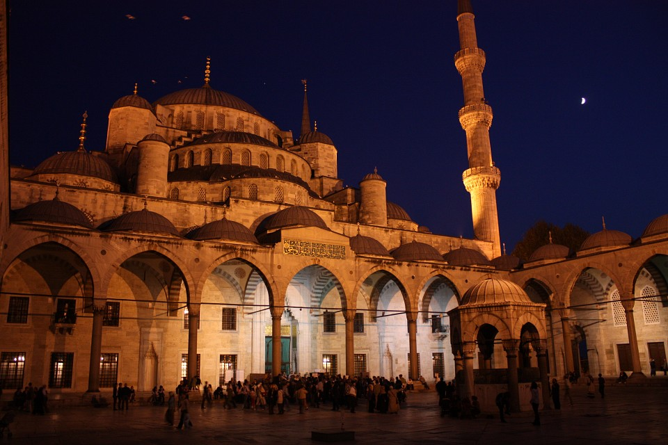 Istanbul, Blue Mosque - Blue Mosque