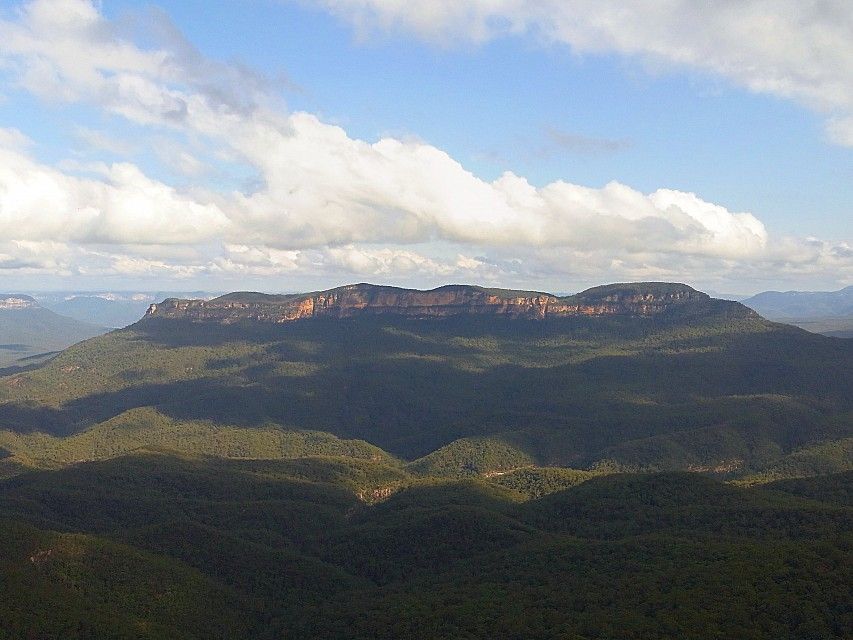 Mount Solitary - Blue