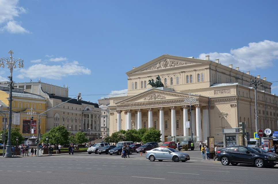 Moscow, Russia, May 2012 - Bolshoi Theatre
