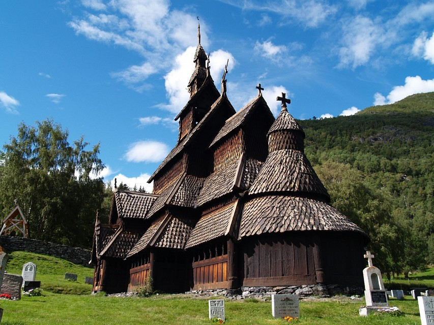 Borgund Stavekirk, Norway - Borgund Stave Church