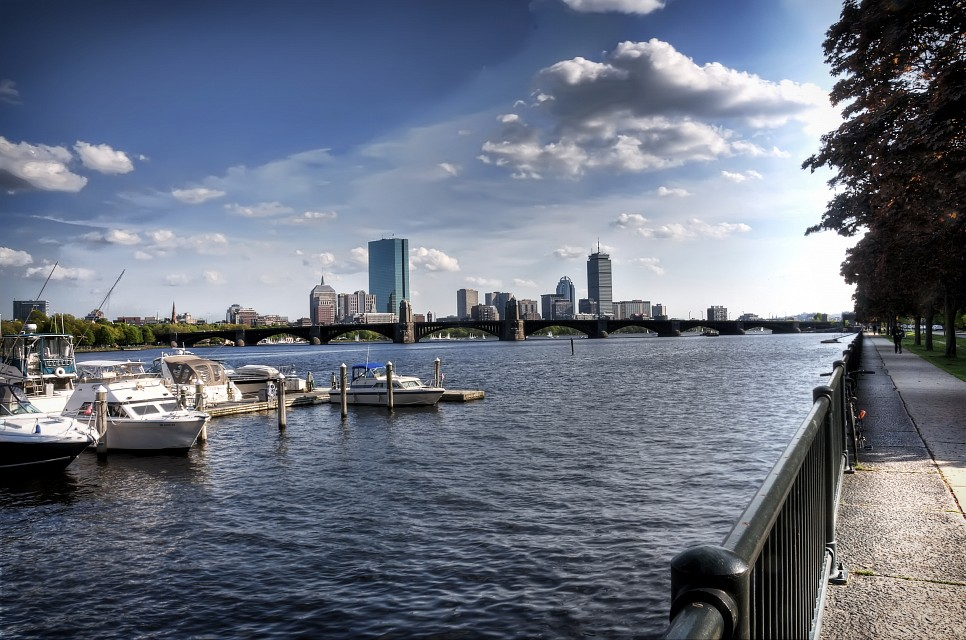 Boston in the Spring - Boston