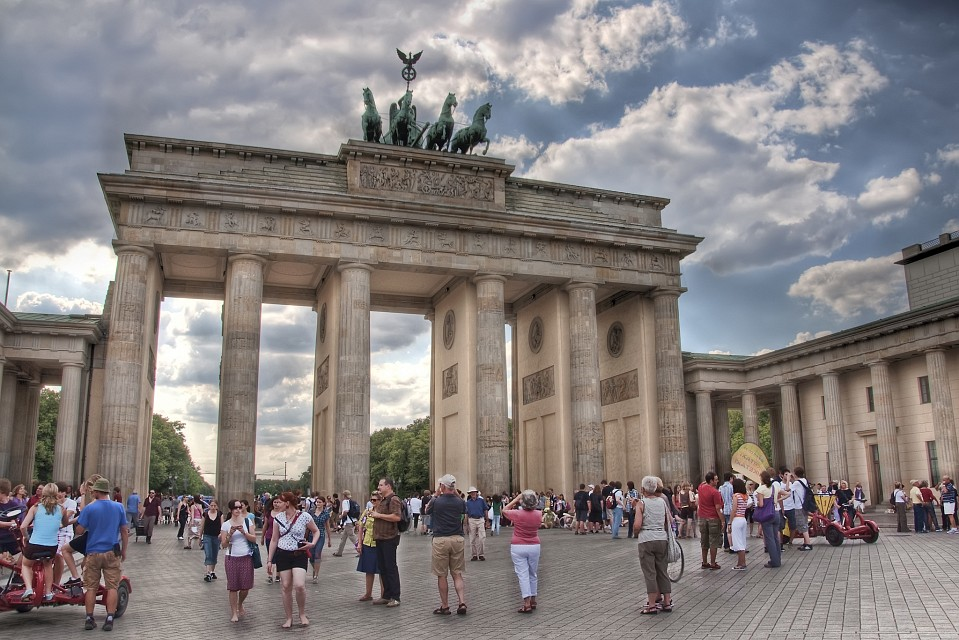Brandenburg Gate in Berlin - Brandenburg