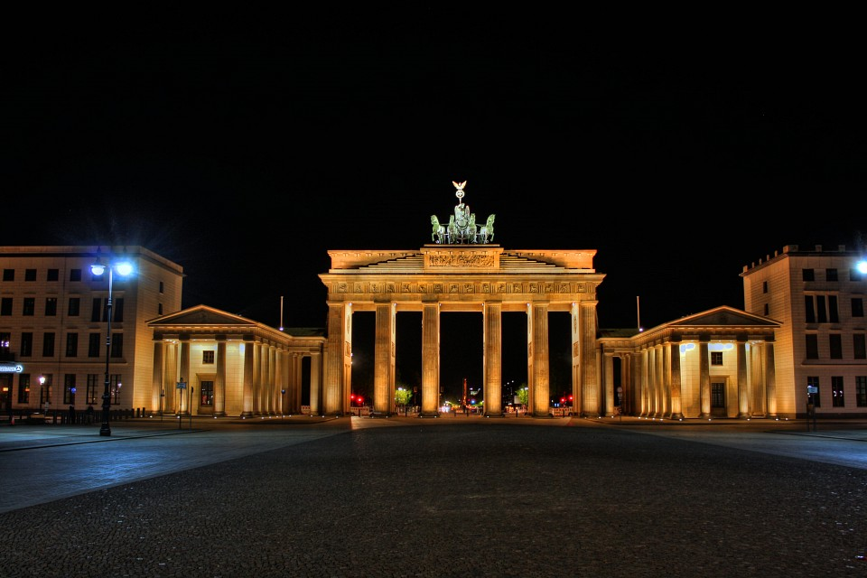 Berlin - Brandenburger Tor 01 - Brandenburg Gate