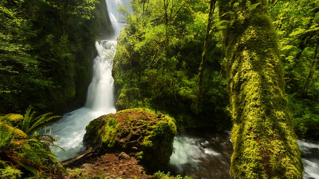 Bridal Veil Falls Oregon