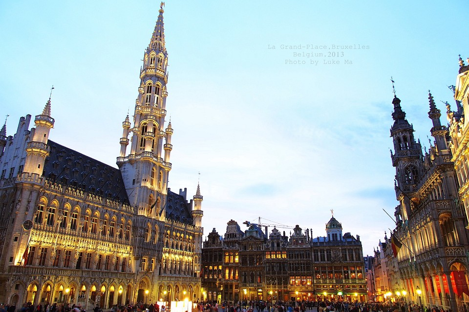 The Grand Place, Brussels, Belgium -