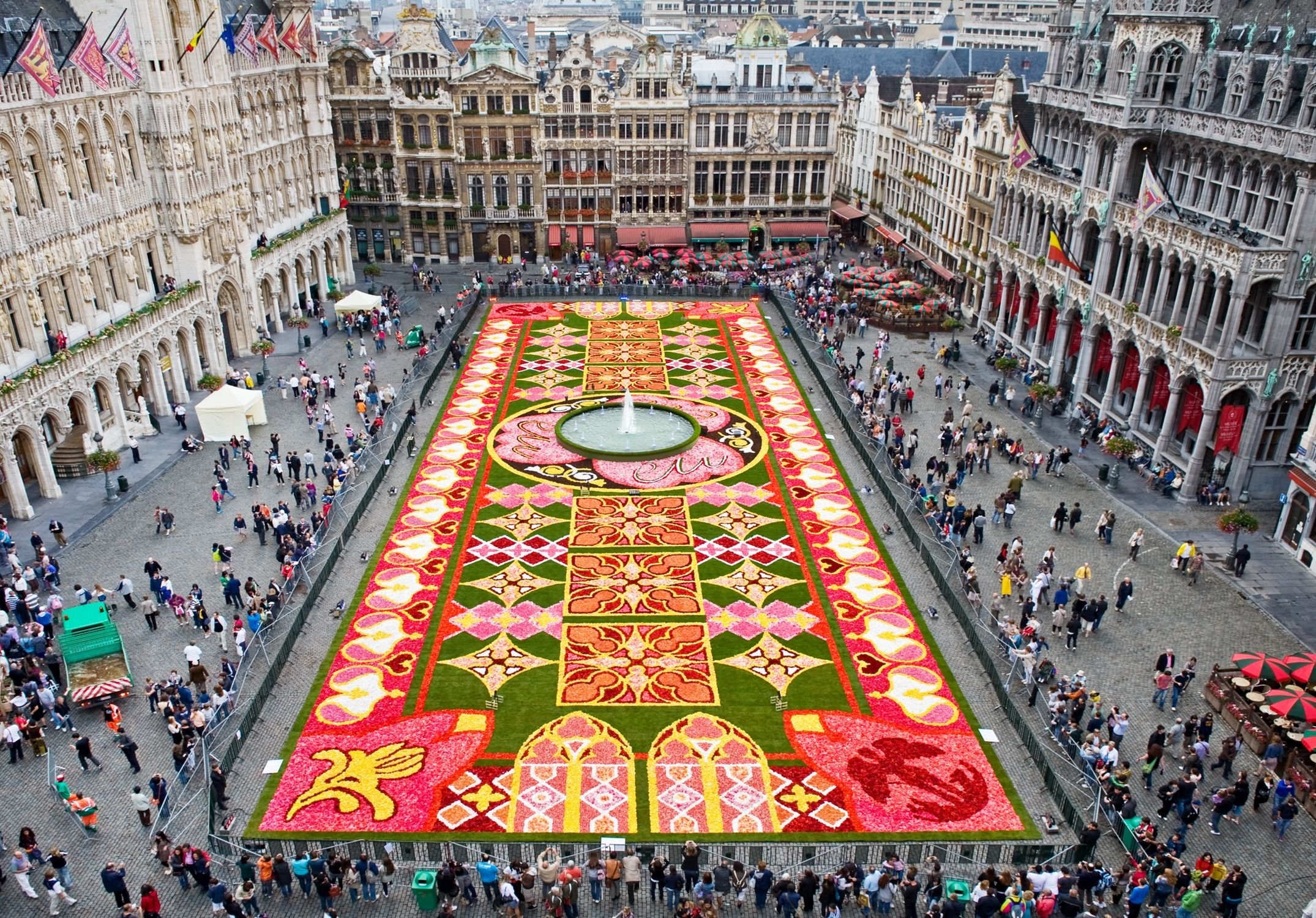 Brussels City in Belgium Sightseeing and Landmarks Thousand – Brussels Tourist Attractions Map