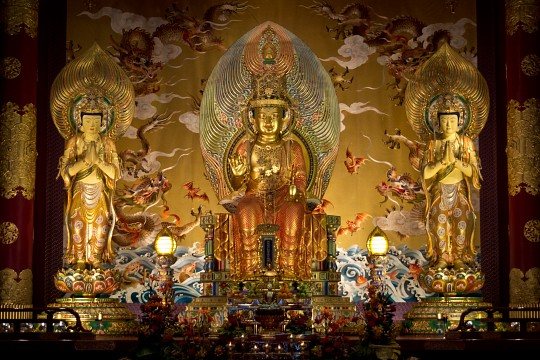 Buddha Tooth Relic & Museum, Singapore - Buddha Tooth Relic Temple and Museum