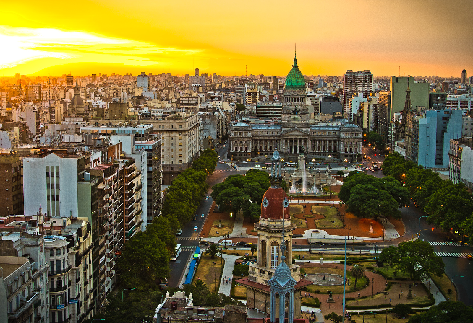Buenos Aires - City in Argentina - Sightseeing and ...