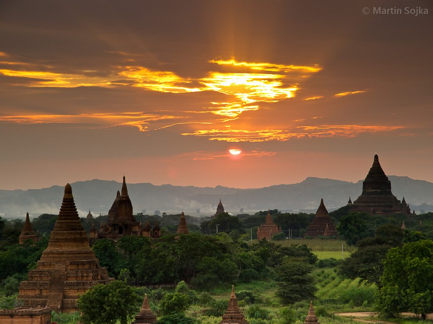 Bagan Sunset - Burma