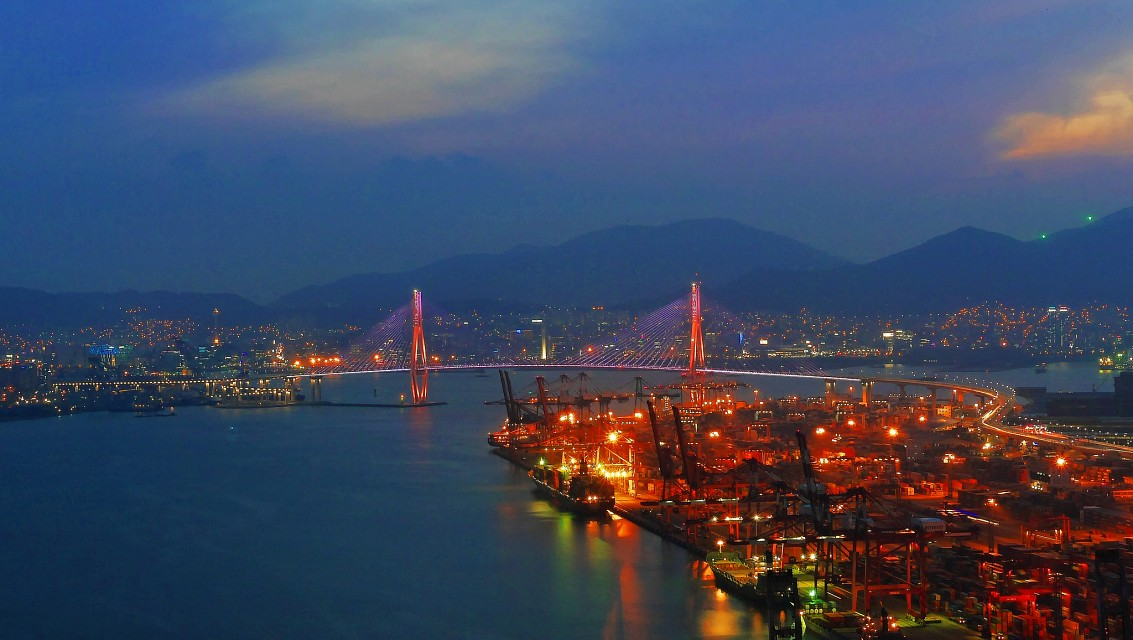 North Port Bridge from Sinseondae -