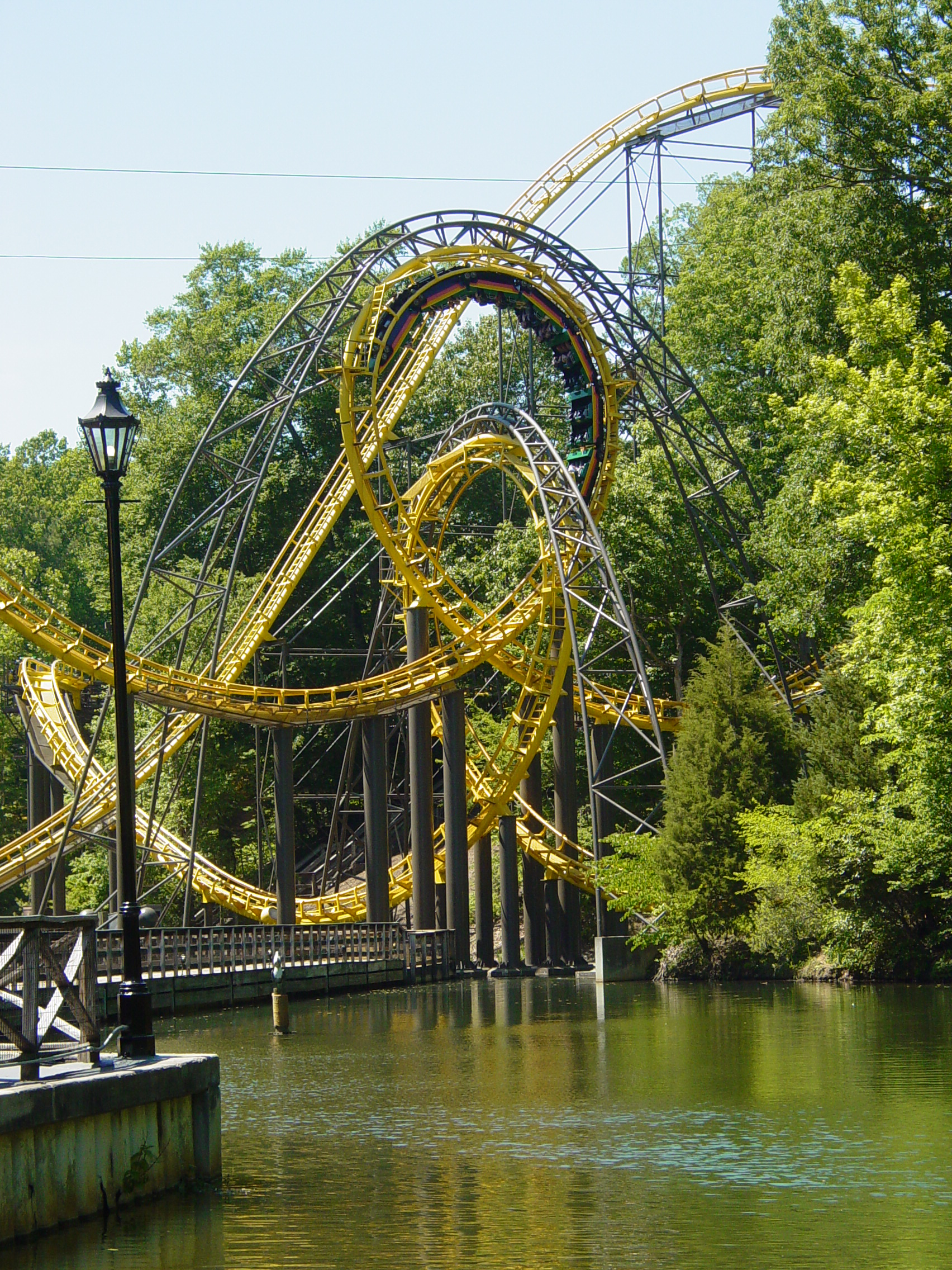Busch Gardens Williamsburg Theme Park in United States