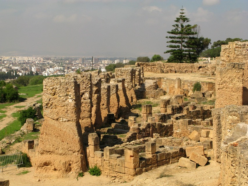 Carthaginian ruins at Byrsa Hill - Byrsa