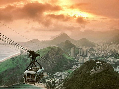 Cable Car on Sugarloaf