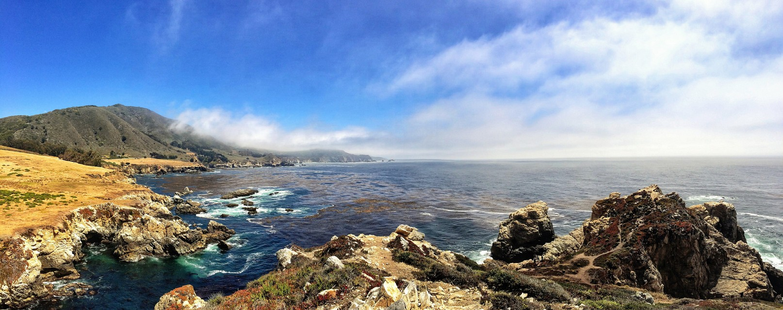 Quick iPhone pano from Big Sur, CA. - California