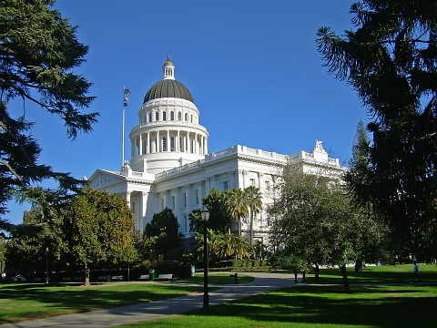 Sacramento city in california thousand wonders map california state capitol museum sciox Gallery