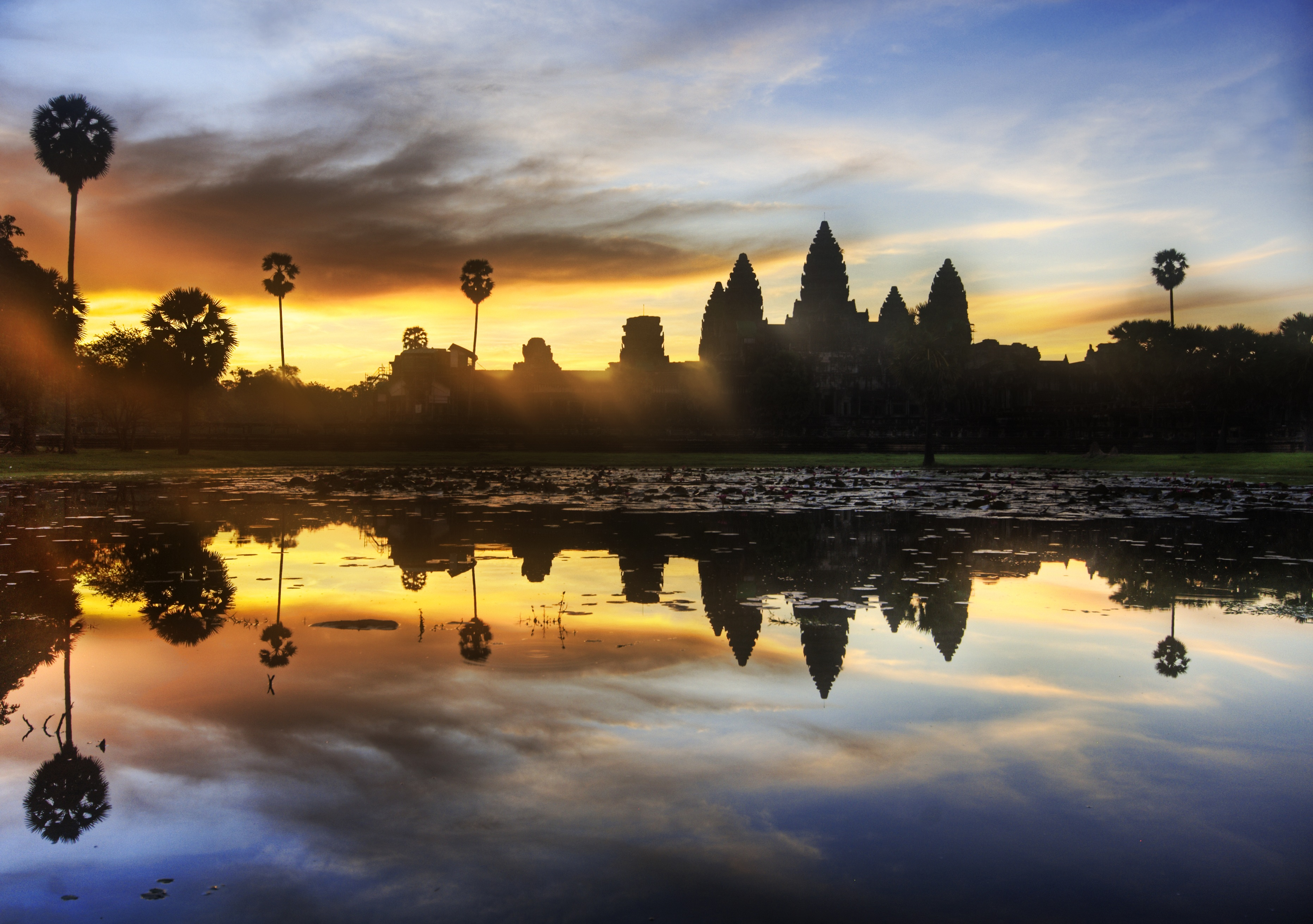 Cambodia In Asia Sightseeing And Landmarks Thousand