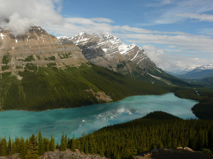 Banff National Park: Peyto Lake - Canada