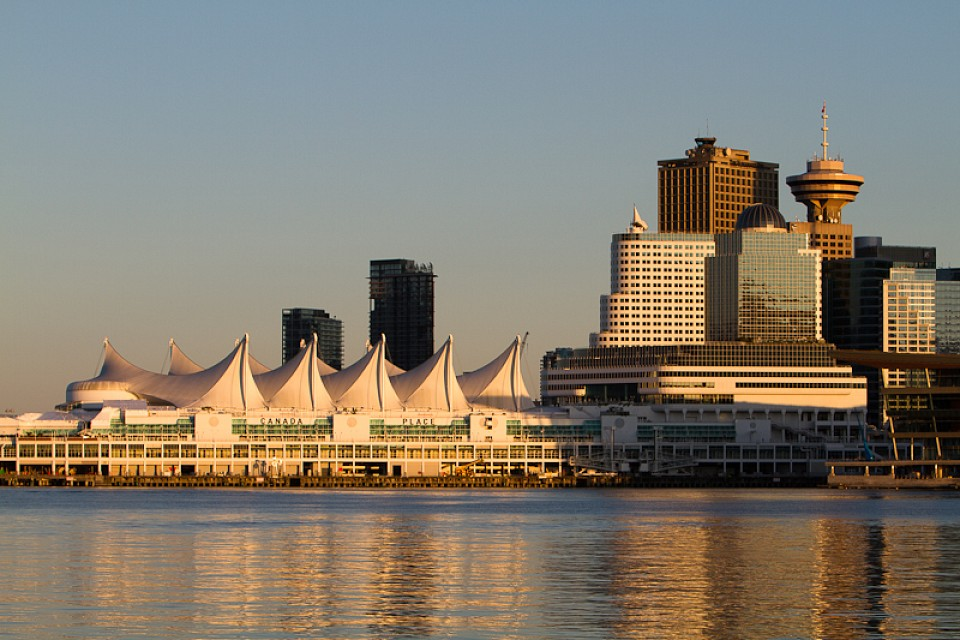 Canada Place at Sunset - Canada Place