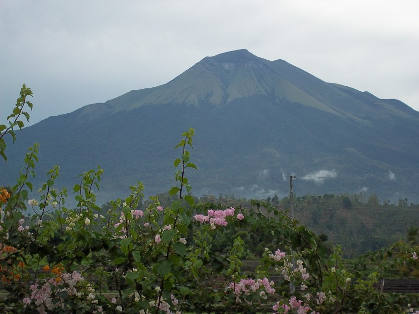 View of Mount Canlaon from La Castella, Negros Occidental - Canlaon Volcano