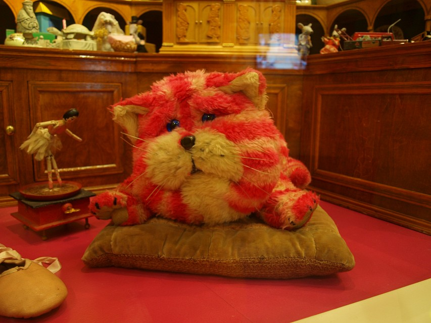 Bagpuss, Dear Bagpuss, Oh soft furry cat-puss - Canterbury Heritage Museum