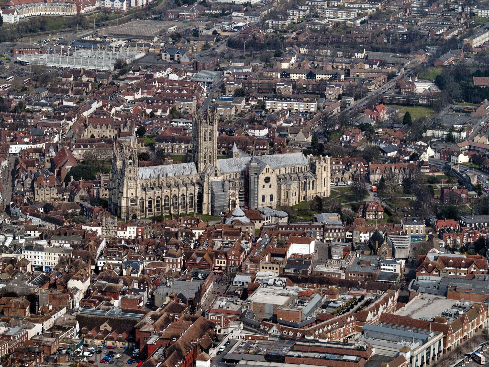 Canterbury City In England Thousand Wonders