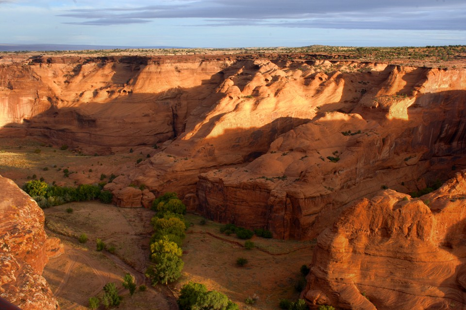 Canyon Overlook - Canyon de Chelly National Monument