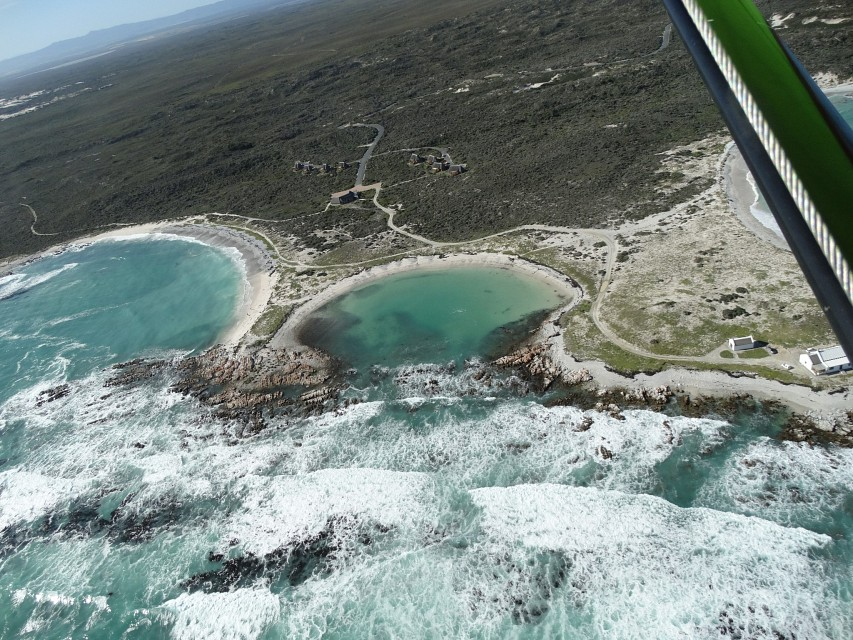 The Blue Lagoon - Cape Agulhas