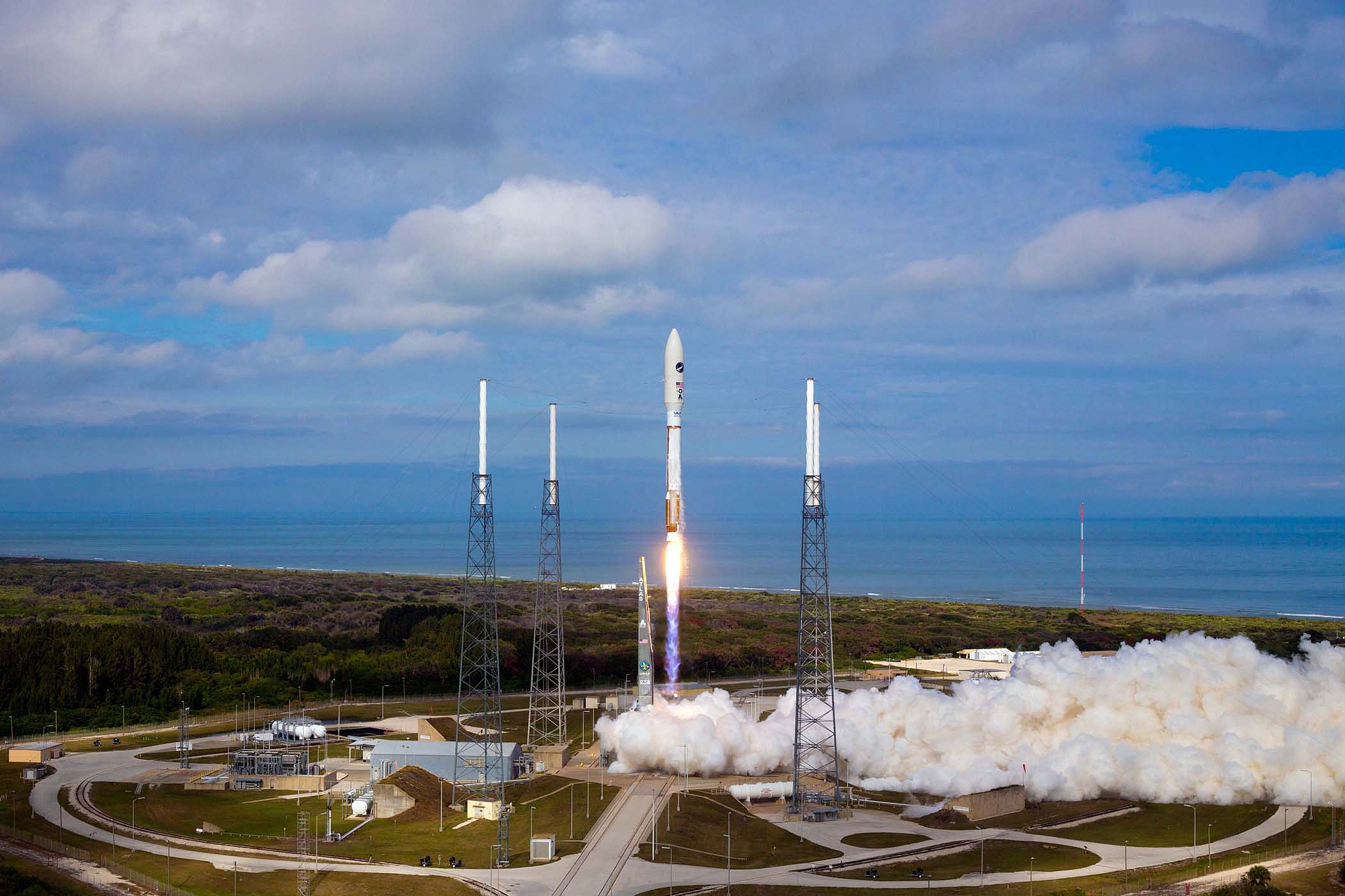 Cape canaveral air force station in florida thousand for Space station florida