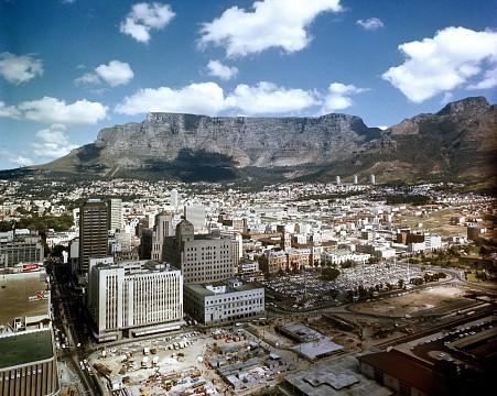 View of Cape Town, South