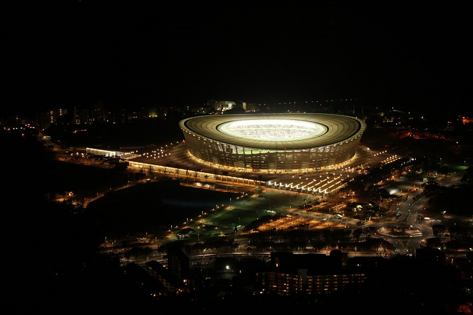 Cape Town Stadium at night - Cape Town Stadium