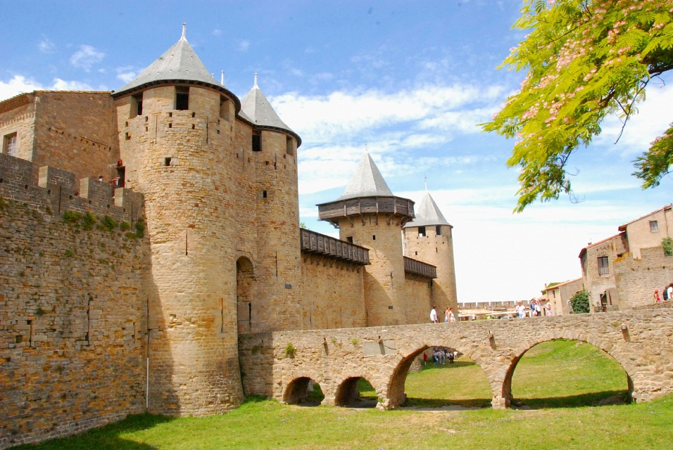 Carcassonne, the castle - Carcassonne