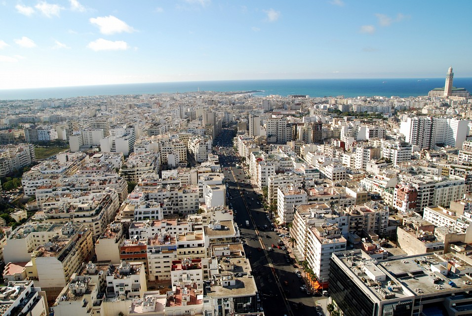 View from Twin Towers - Casablanca