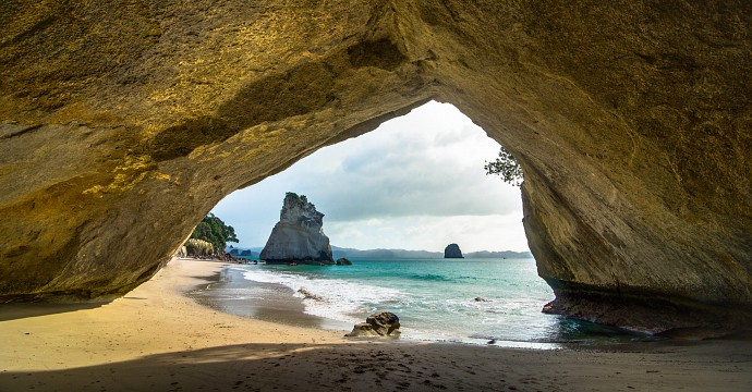 Cathedral Cove -