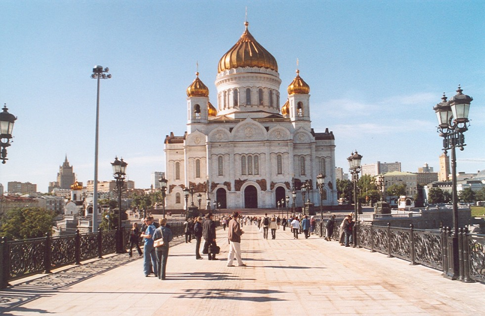 Moscow, Cathedral of Christ the Saviour - Cathedral of Christ the Saviour