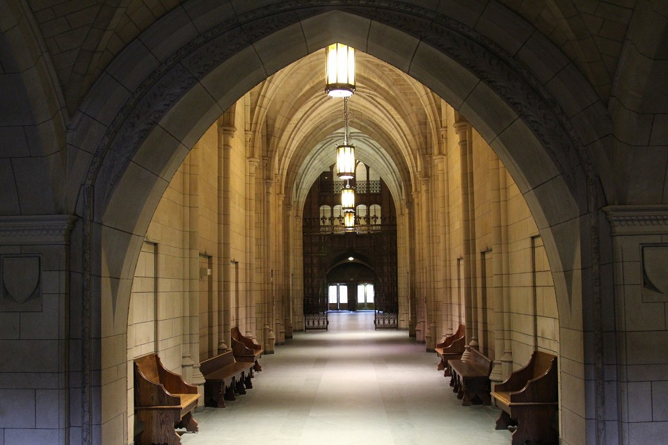 Gothic architecture of Cathedral - Cathedral of Learning