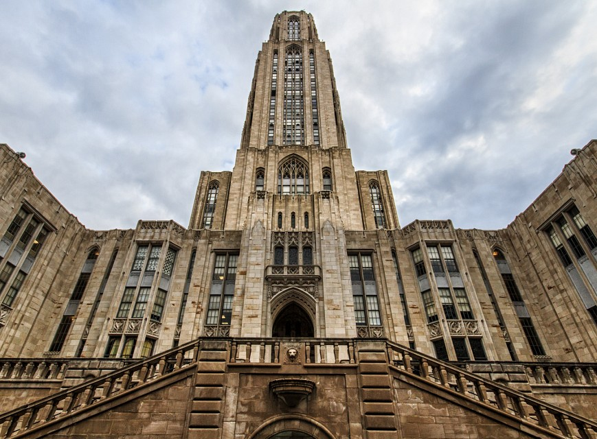 Cathedral of Learning Pittsburgh - Cathedral of Learning