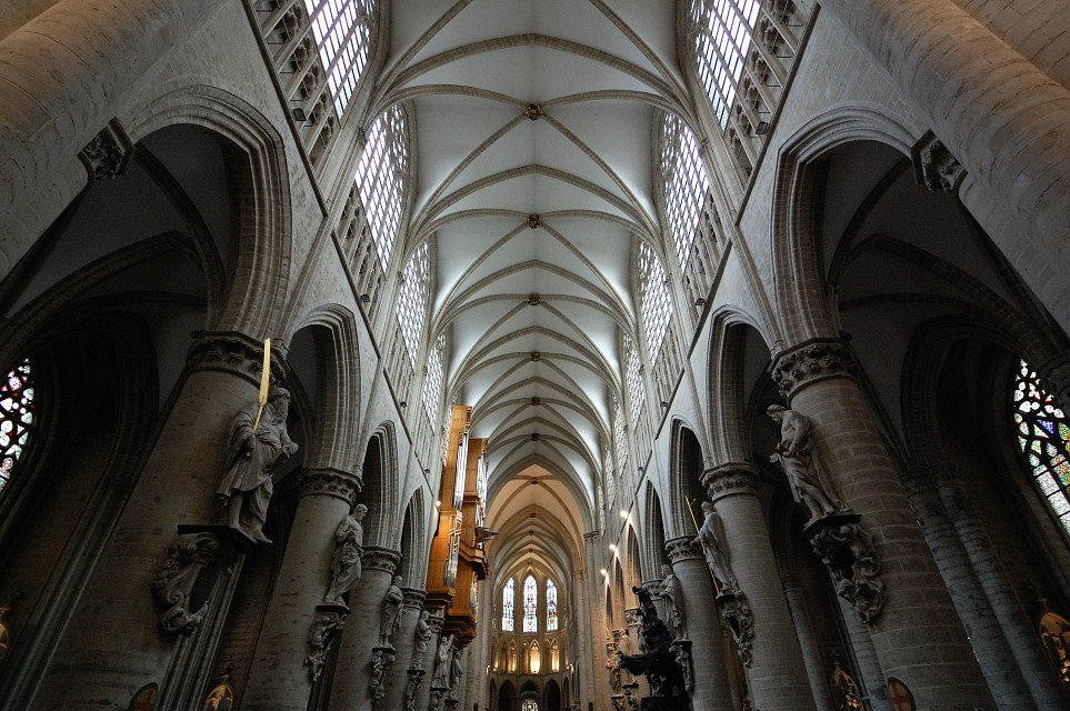 St. Michael and St. Gudula Cathedral, Brussels - Cathedral of St. Michael and St. Gudula