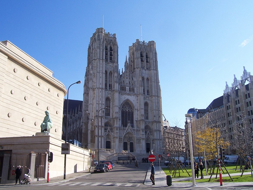 St. Michael and St. Gudula Cathedral - Cathedral of St. Michael and St. Gudula