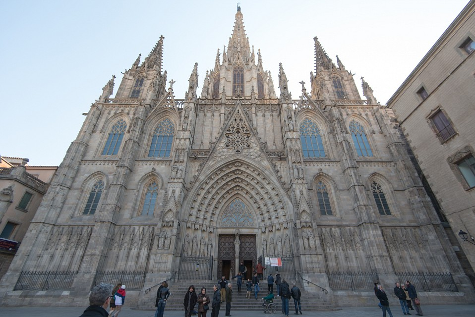 Cathedral of the Holy Cross and Saint Eulalia - Cathedral of the Holy Cross and Saint Eulalia